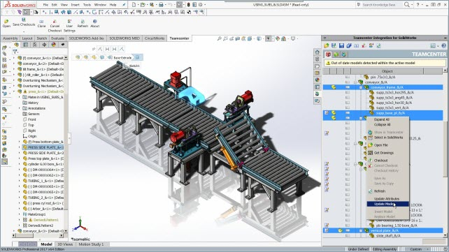 Mechanical Design Management Solidworks Collaborative Design tcm27 26426